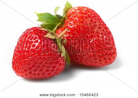 Fresas frescas y sabrosas