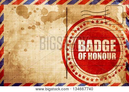 badge of honour