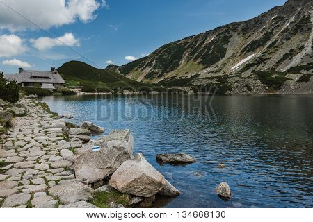 Alpine Lake In Five Lakes Valley