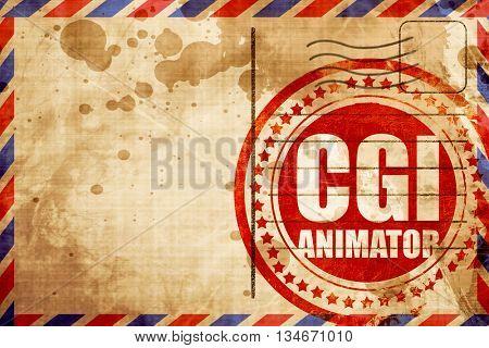 cgi animator
