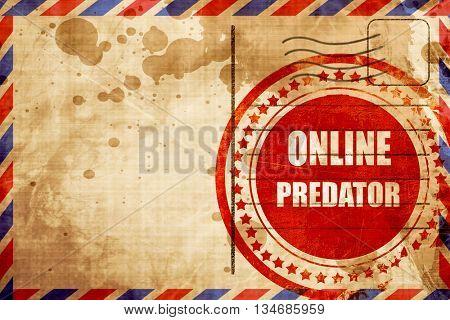online predator background