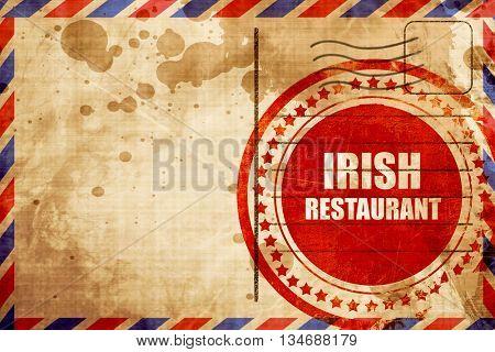 Delicious irish cuisine