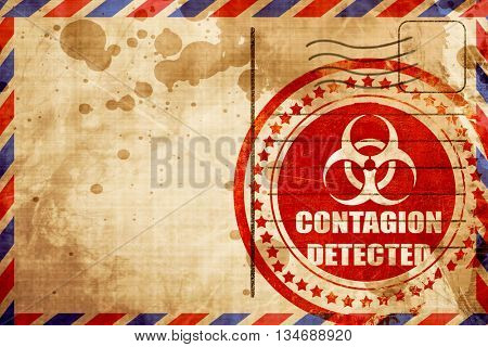 Contagion concept background