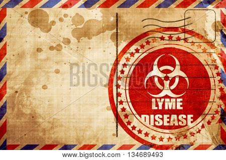 Lyme virus concept background