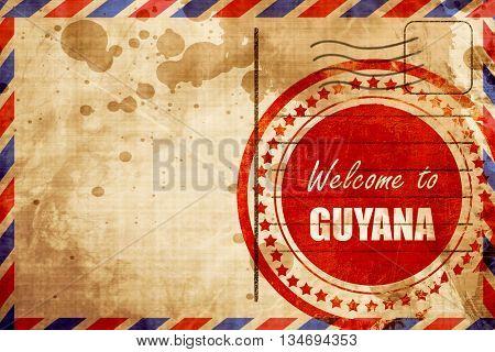 Welcome to guyana
