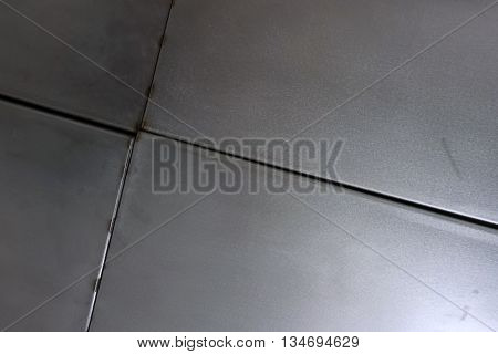 abstract of aluminum texture for background used