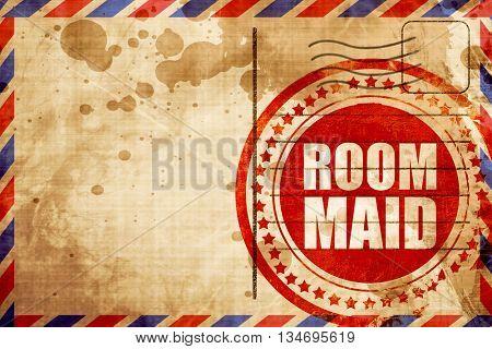 room maid