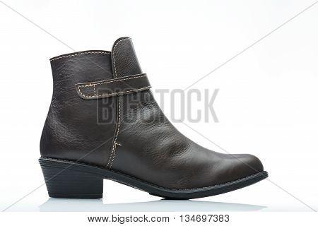 Side View Dark Boot
