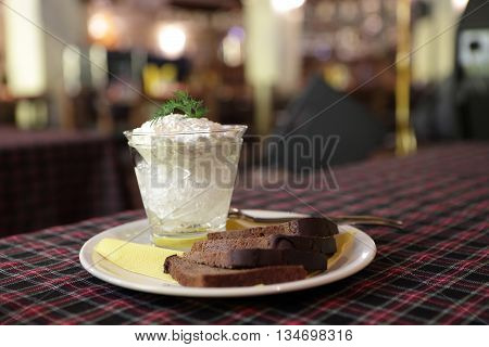 Pike Caviar With Black Bread