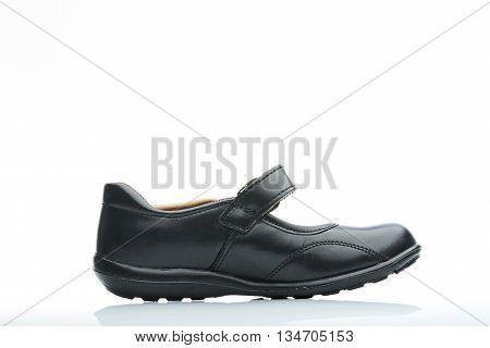 Side School Girl Leather Shoe
