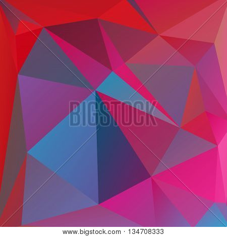 abstract pink background, simple square vector illustration