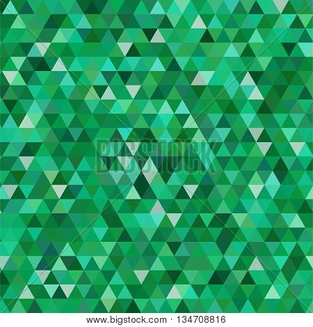 abstract green background, simple square vector illustration