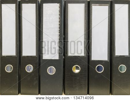 Closeup surface of group of document file background
