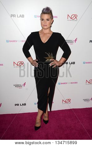 LOS ANGELES - JUN 16:  Kelly Osbourne at the Babes for Boobs Live Bachelor Auction at the El Rey Theater on June 16, 2016 in Los Angeles, CA