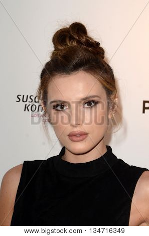LOS ANGELES - JUN 16:  Bella Thorne at the Babes for Boobs Live Bachelor Auction at the El Rey Theater on June 16, 2016 in Los Angeles, CA