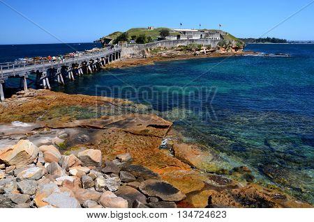 The La Perouse peninsula is the northern headland of Botany Bay. It is notable for its old military outpost at Bare Island.