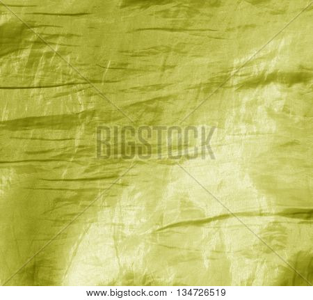 Abstract Yellow Fabric Texture.