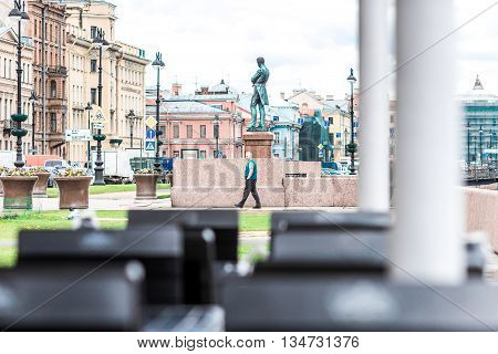 Admiral Ivan Krusenstern Monument