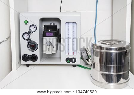 Anesthesia Machine In Vet Clinic