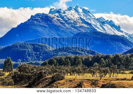 Lotr Scene In Glenorchy, New Zealand