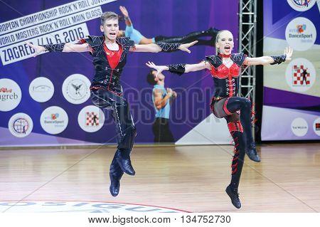 Acrobatic Rock N Roll, Zagreb
