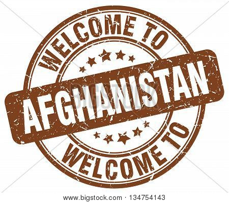 welcome to Afghanistan stamp. welcome to Afghanistan.