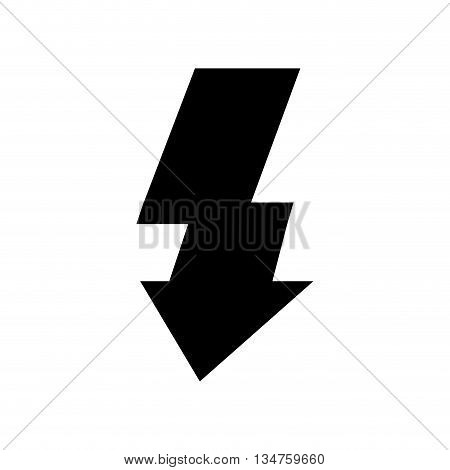 activate flash light isolated icon design, vector illustration eps10 graphic