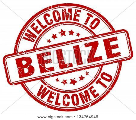 welcome to Belize stamp. welcome to Belize.