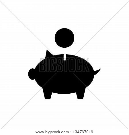 Piggy Money Bank Icon