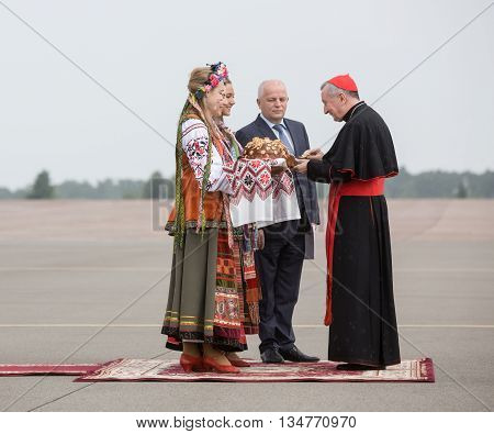 Meeting Of Cardinal Pietro Parolin