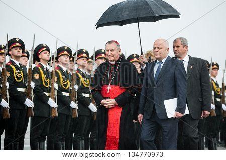 Meeting Of Cardinal Pietro Parolin