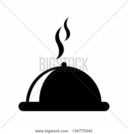 Restaurant tray isolated icon design, vector illustration  graphic