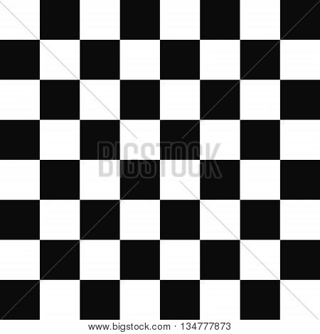 black and white squares checkered pattern - chess board