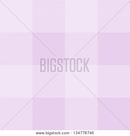 Seamless gingham pattern background - pink squares