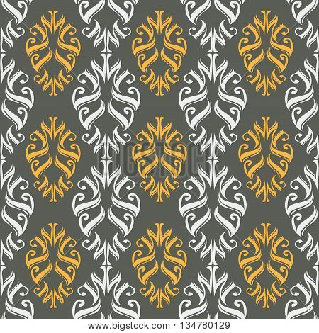 Seamless Ornament Pattern Vector Tile