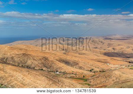 Amazing View From Mirador Morro Velosa - Fuerteventura Canary Islands Spain