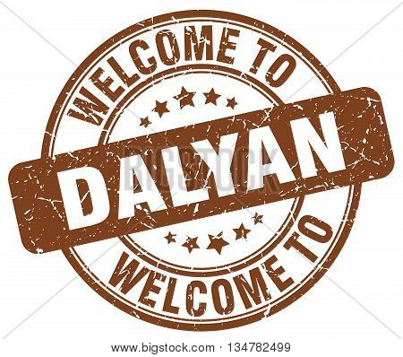 welcome to Dalyan stamp. welcome to Dalyan.
