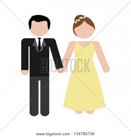 Avatar of Family design about couple  illustration, flat and isolted design