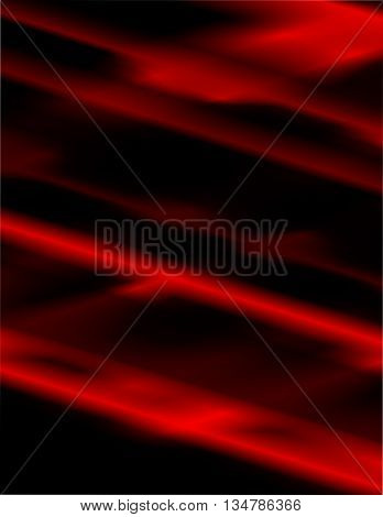 Colorful black and red abstract background with copyspace.