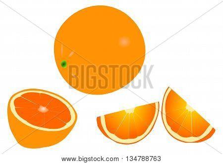 orange , orange slicing , tropical fruit ,