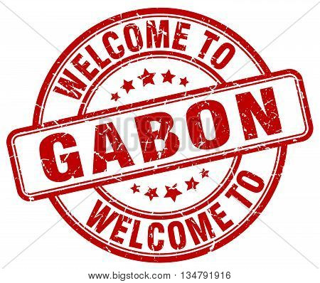 welcome to Gabon stamp. welcome to Gabon.
