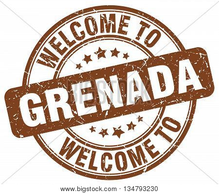 welcome to Grenada stamp. welcome to Grenada.
