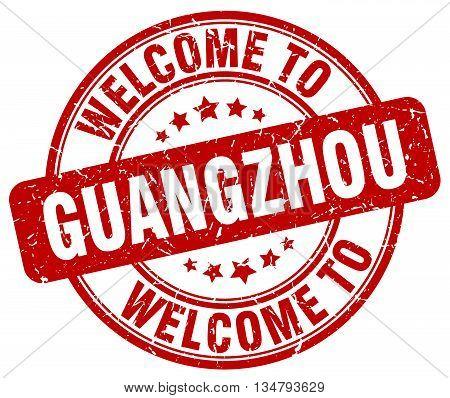 welcome to Guangzhou stamp. welcome to Guangzhou.