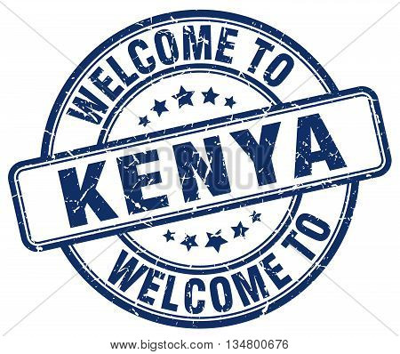 welcome to Kenya stamp. welcome to Kenya.