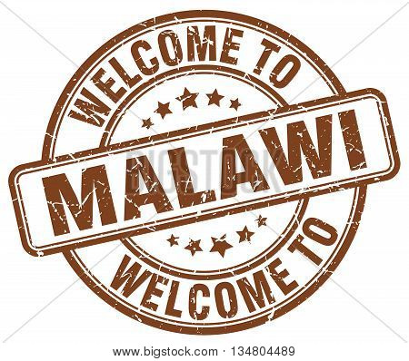 welcome to Malawi stamp. welcome to Malawi.