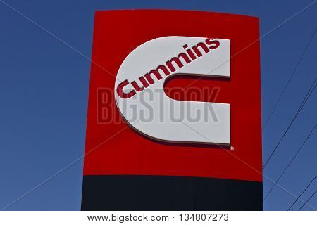 Indianapolis - Circa June 2016: Cummins Inc. is a Manufacturer of Engines and Power Generation Equipment