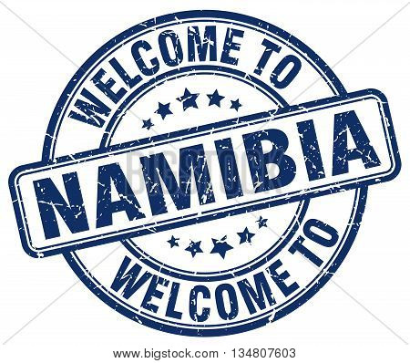 welcome to Namibia stamp. welcome to Namibia.