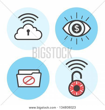 Cyber Security Icons 11