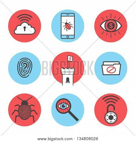 Cyber Security Icons 14