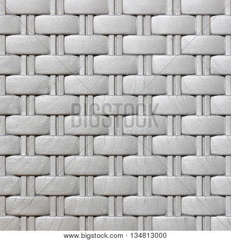 The plastic weave pattern texture and background